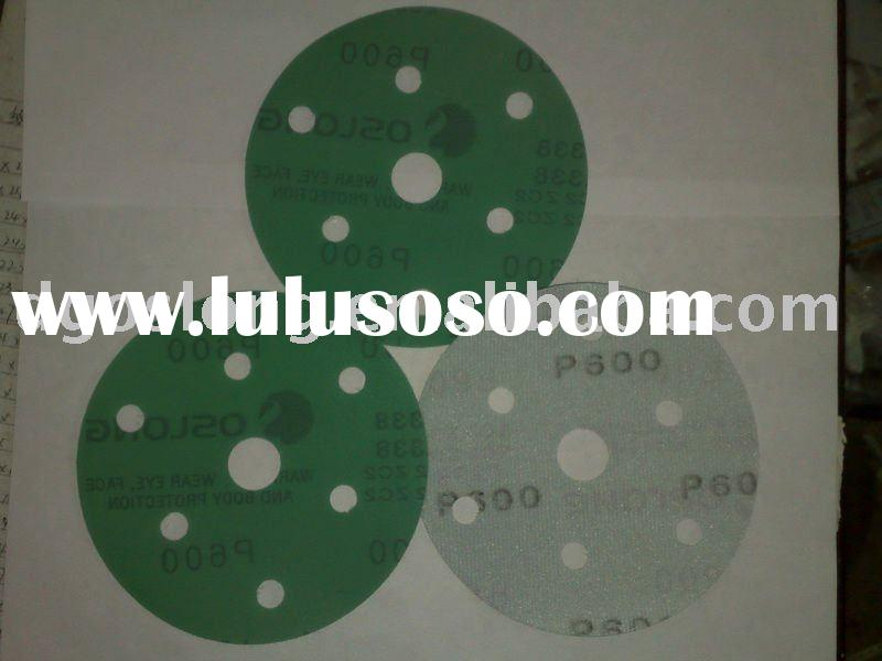 OSLONG L338 self-adhesive Film-Backed sandpaper(abrasive disc)(velcro discs)(abrasive paper)(sand pa