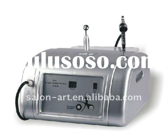 Oxygen injection machine for skin rejuvenation