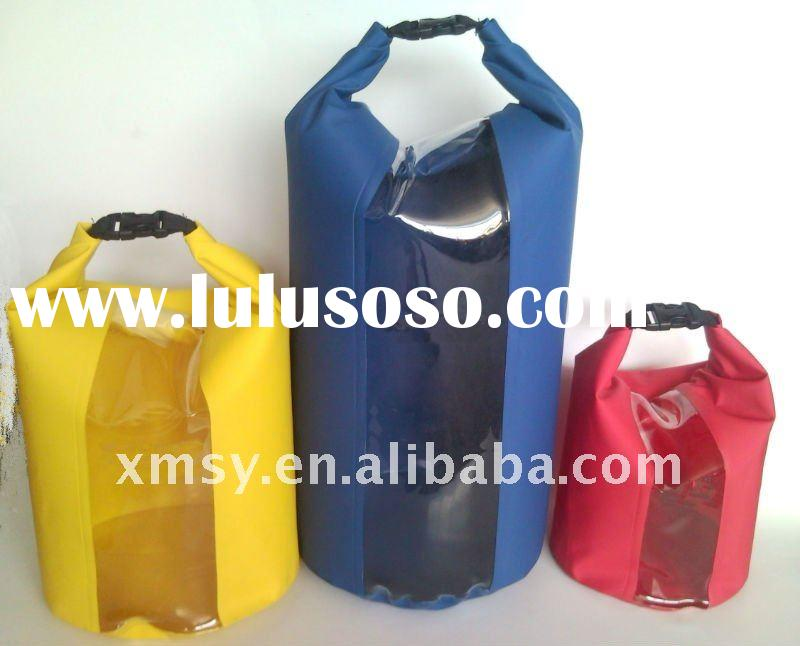 PVC dry bag with clear window