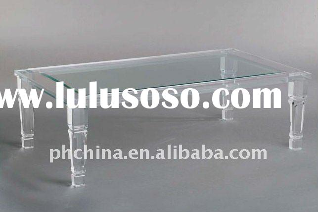 PW-208 Clear Acrylic Dining Table,Living Room Table,Arcylic Furniture