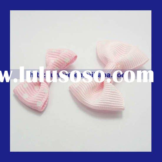 Pink Ribbon Bow Tie