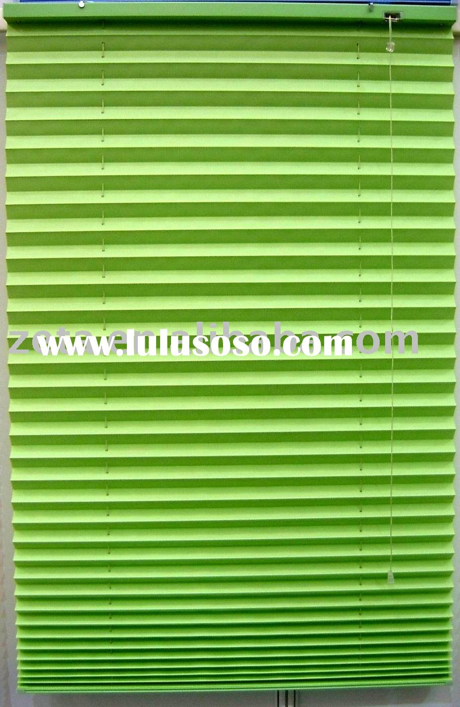 Polyester Fabric Pleated Blind