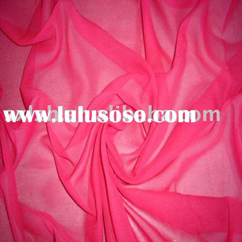Polyester Spun Voile Fabric For Scarf