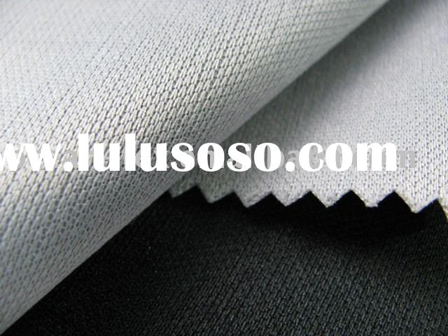 Polyester bonding fabric
