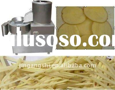 Potato washing /Peeling and Chips cutting machine/008615238002658