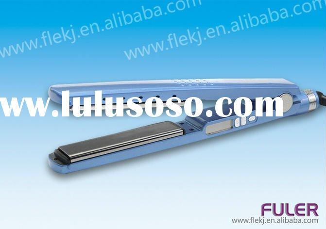 Pro Nano titanium 1 1/4 Inch hair iron straightener in high quality from factory OEM accepted