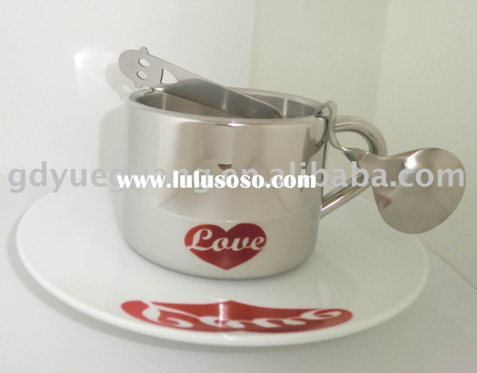 Promotion gift Stainless Steel Coffee Cups Sets
