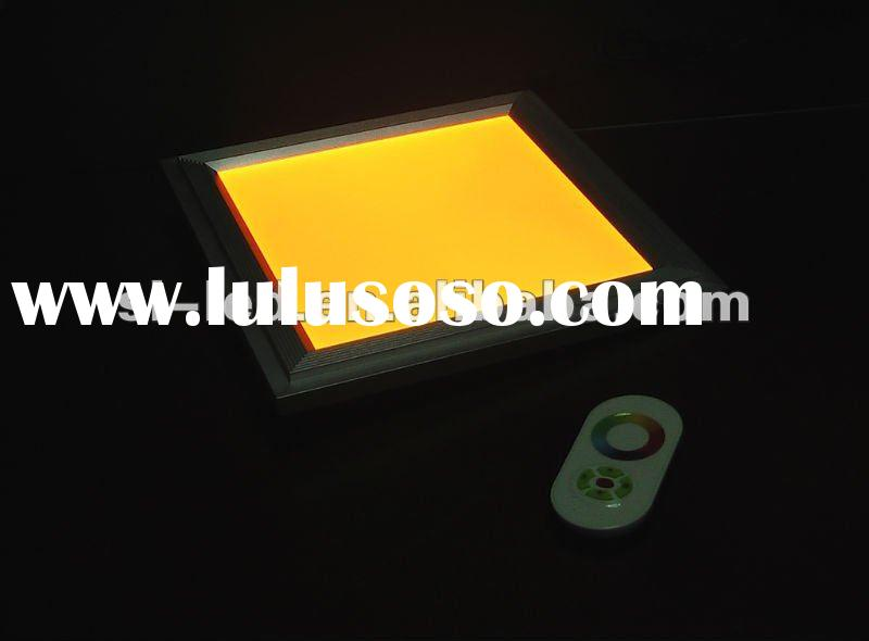 RGB led recessed ceiling panel light
