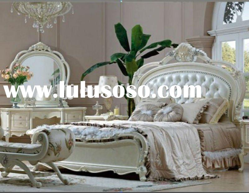 Royal furniture/antique white bedroom furniture TY-CL006