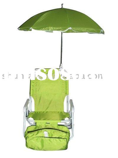 STEEL FOLDING BEACH CHAIR FOR KIDS with Umbrella