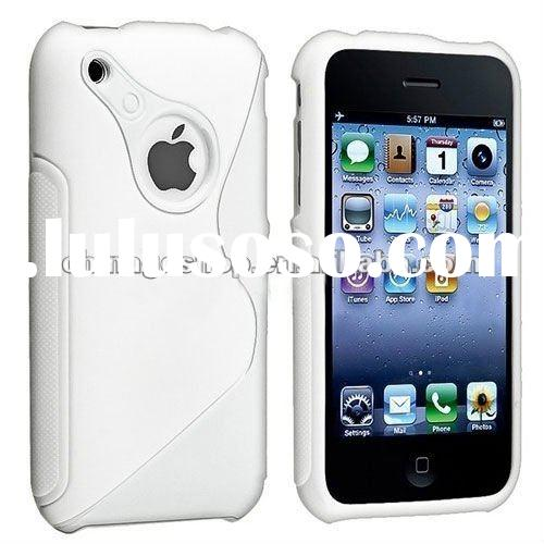 S Line TPU Gel Case for iPhone 3G 3GS hot selling