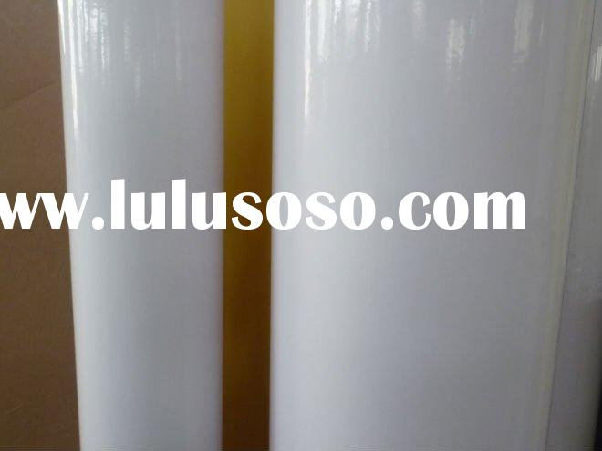 Self-adhesive mirror coated paper