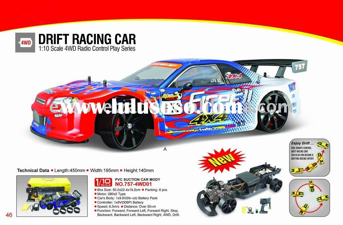 So Cool 1/10 Scale 4 WD Electiic Drift RC Car!Hot Sale!!Original Factory Price!!!