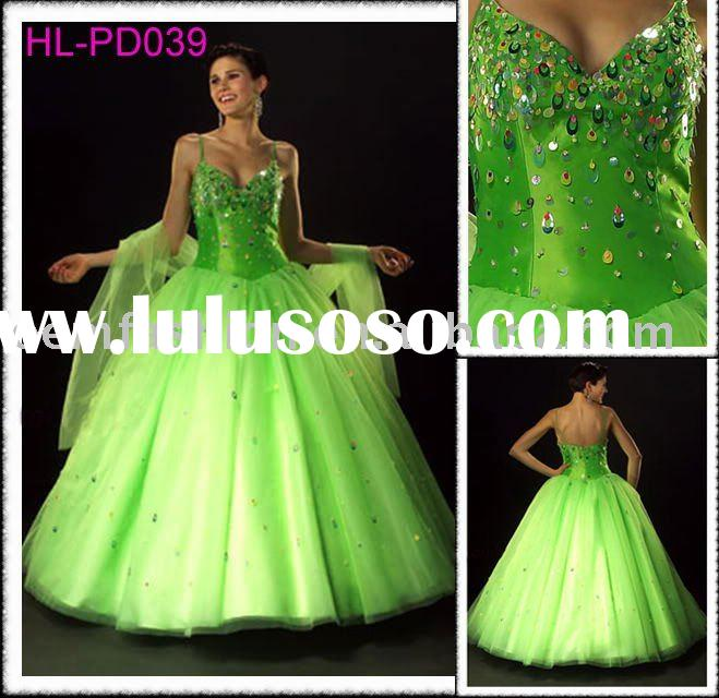 Stunning Prom Dress/prom gown/Charm ball gown HL-PD039