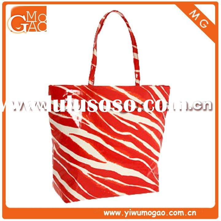 Stylish High-quality Elegant Shiny Exqisite Laminated Cotton Tote Bag