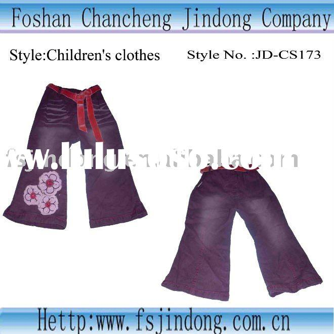 The latest fashion jeans