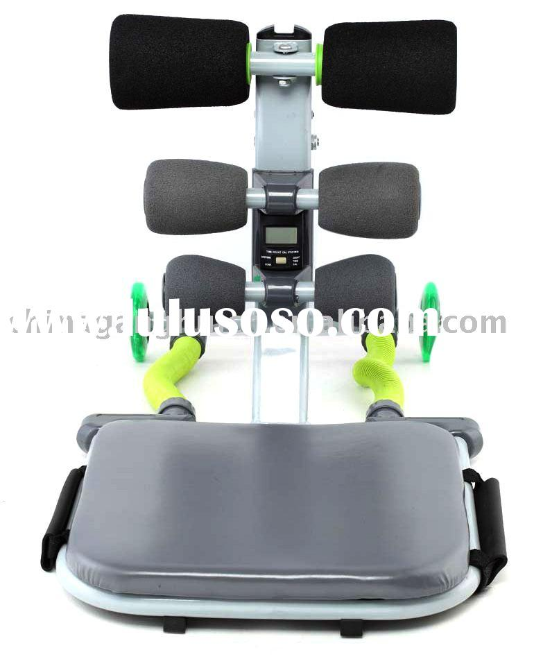 Total Core Abdominal Training Equipment with Unique and Progressive Resistance System