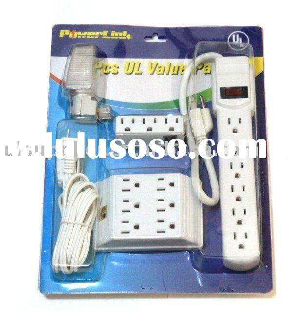 UL power strip value pack indoor electrical outlets