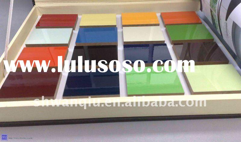 UV MDF board for kitchen cabinet and furniture use