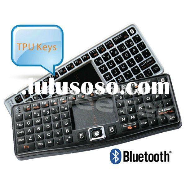 Ultra Mini Wireless Bluetooth Keyboard with Touchpad for ipad iphone