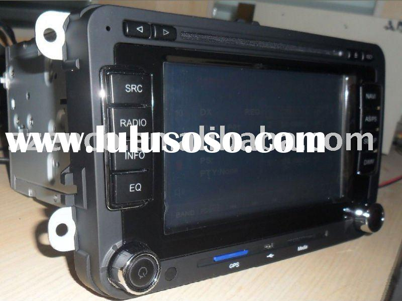 VW golf 6 radio player system with car dvd,gps navigation,rds audio system