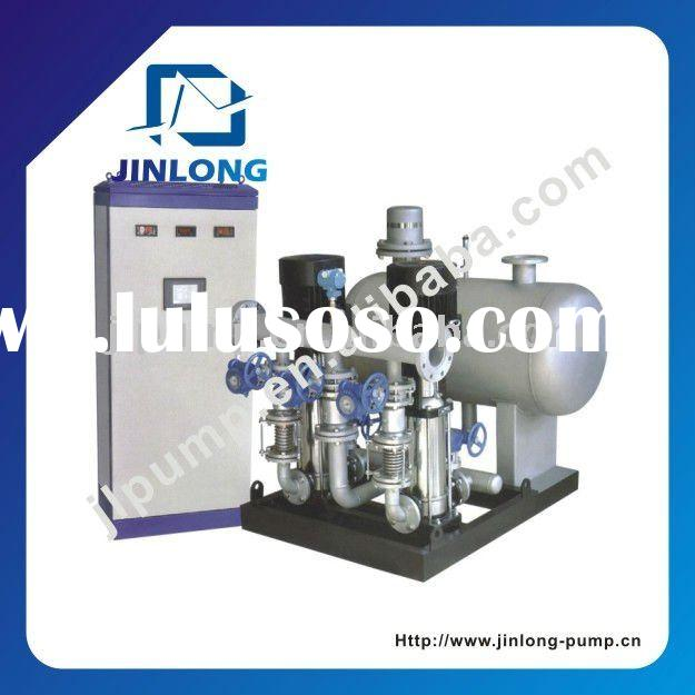 Variable speed booster water pump system