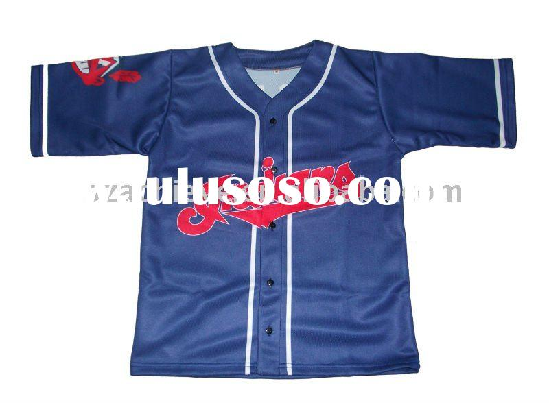 Youth baseball jersey,custom team uniforms
