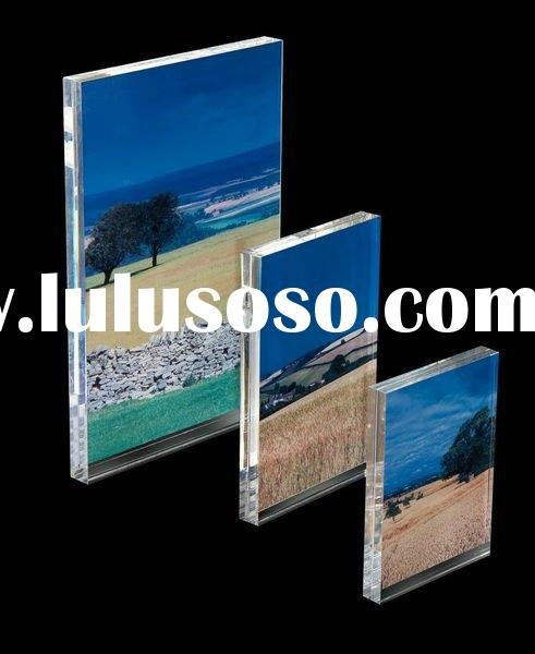 acrylic picture frame holder