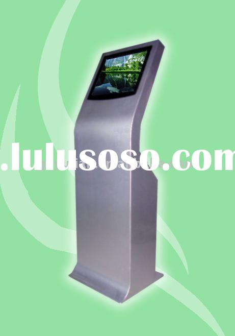 bank payment kiosk with cash acceptor and printer/ touch screen information kiosk/ multi media touch