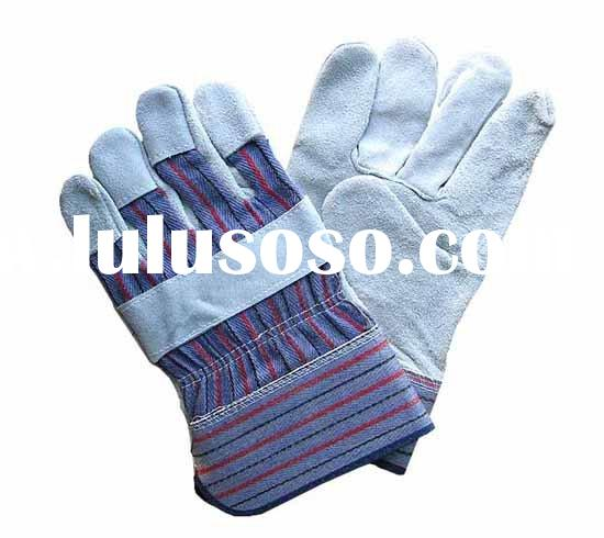 cow leather work gloves
