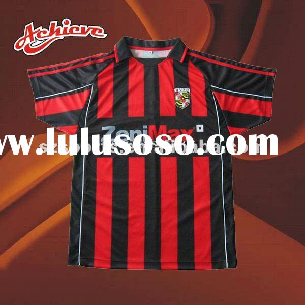 custom fully sublimation soccer jersey design