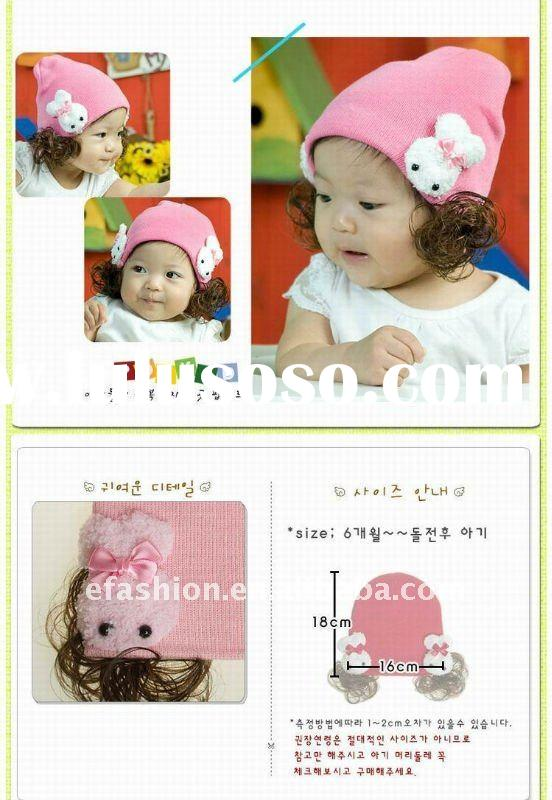 cute! Rabbit Baby girls caps and hats