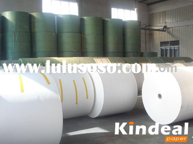 double pe coated paper in roll