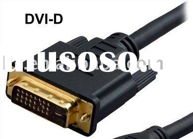 dvi cable 24+5 dual link,Copartner cable