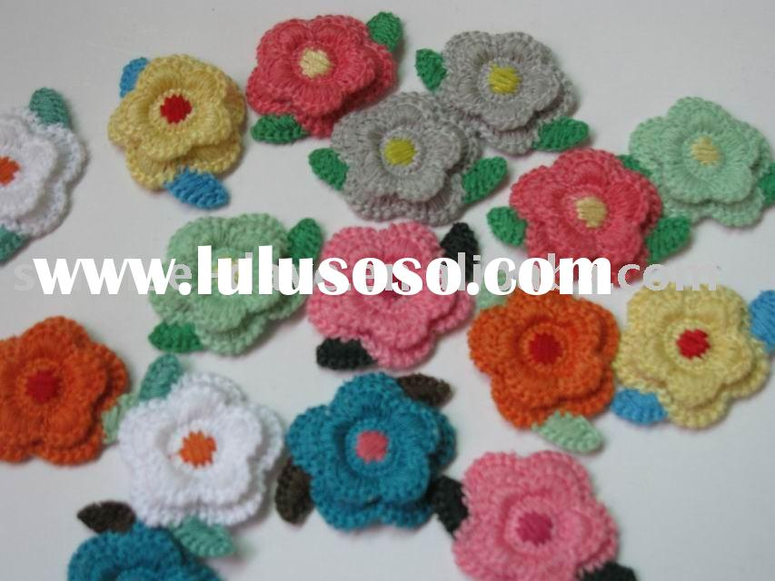 embroidery patch,flower,embroidered applique