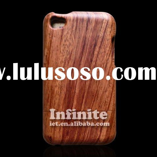 for iPod Touch Case 100% Wood Bamboo