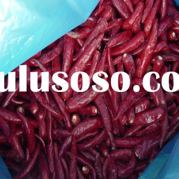 frozen whole red chili