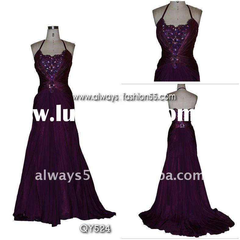 high quality gorgeous elegant evening dresses qy524