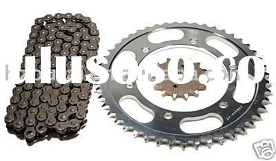 high quality motorcycle chain and sprocket kit for TITAN