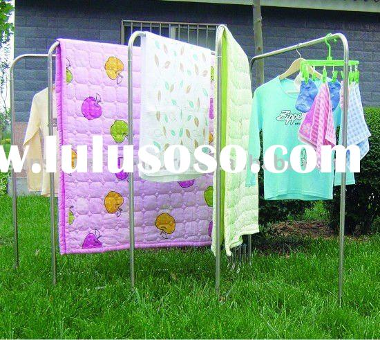metal folding clothes/ laundry drying rack