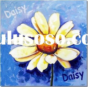modern Flowers Art Painting(canvas flowers painting)