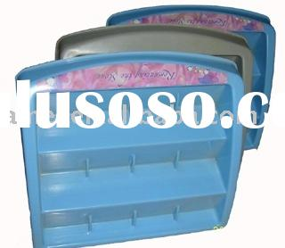 plastic display stand, ABS material, vacuum formed blister process