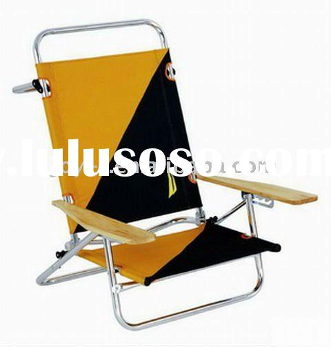 plastic folding beach chair/recliner chairs