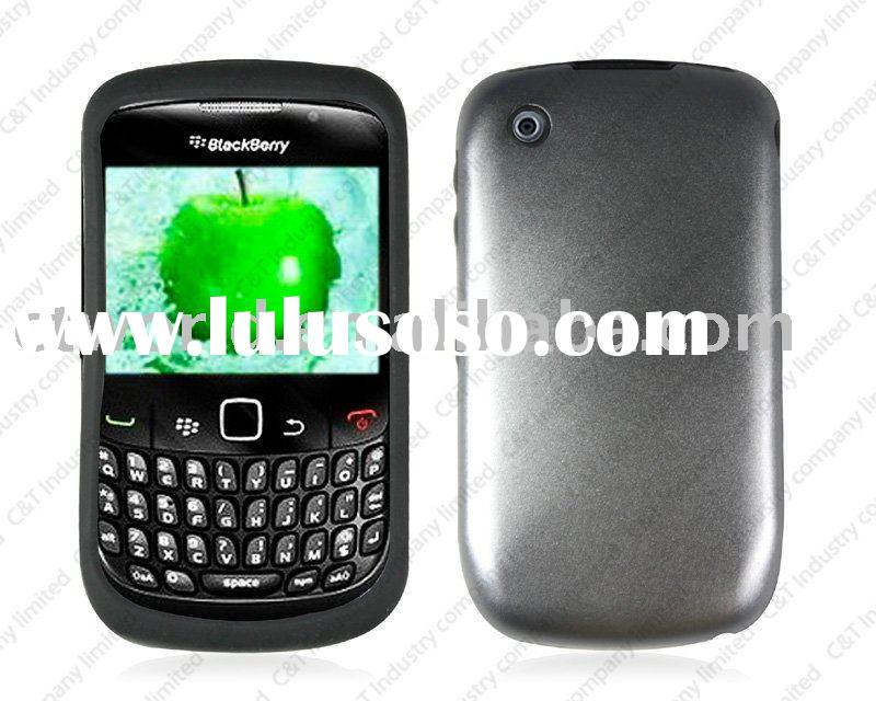 plating case for blackberry mobile phones 8520 curve cellphone covers