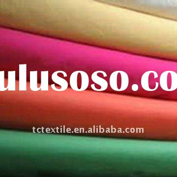 polyester/cotton plain dyed woven fabric T/C 80/20