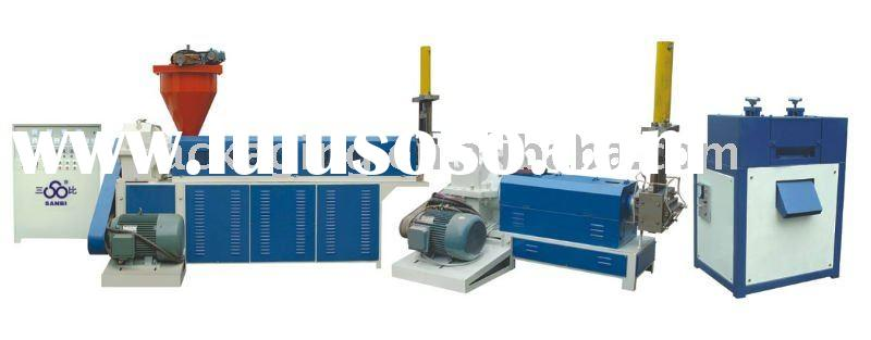 pp pe waste plastic recycle machine