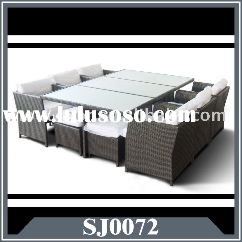 rattan dining set/rattan table and chair