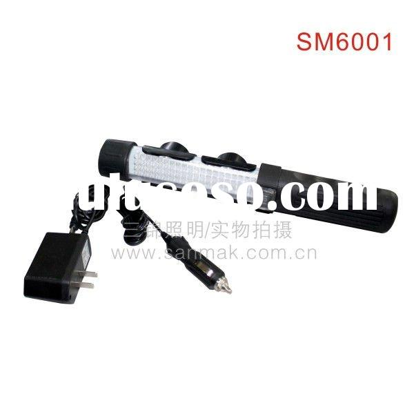 rechargeable flexible LED work torch flashlight light SM6001