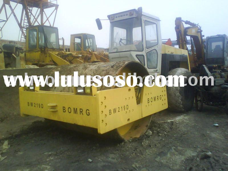 road roller BOMAG 219(road roller used road roller construction machinery)