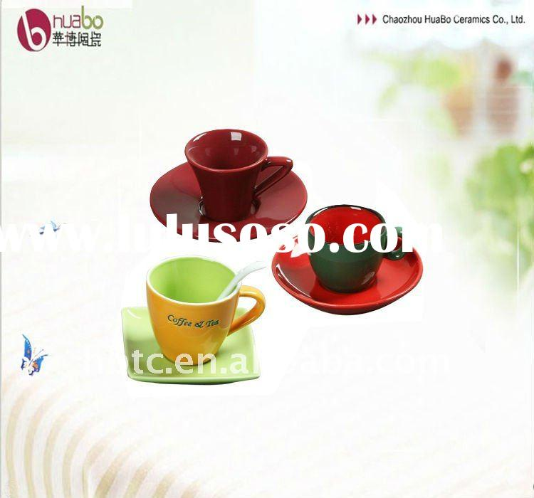 small ceramic coffee mug set,suit for western